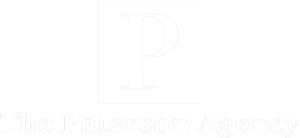 Paterson Agency - Logo 800 White
